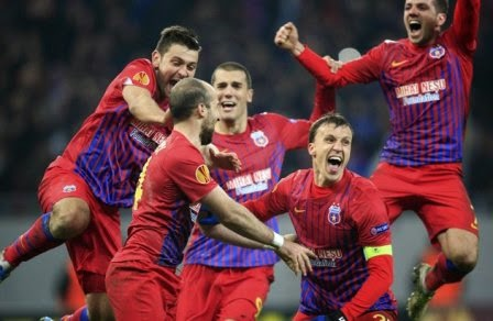 Stromsgodse vs Steaua