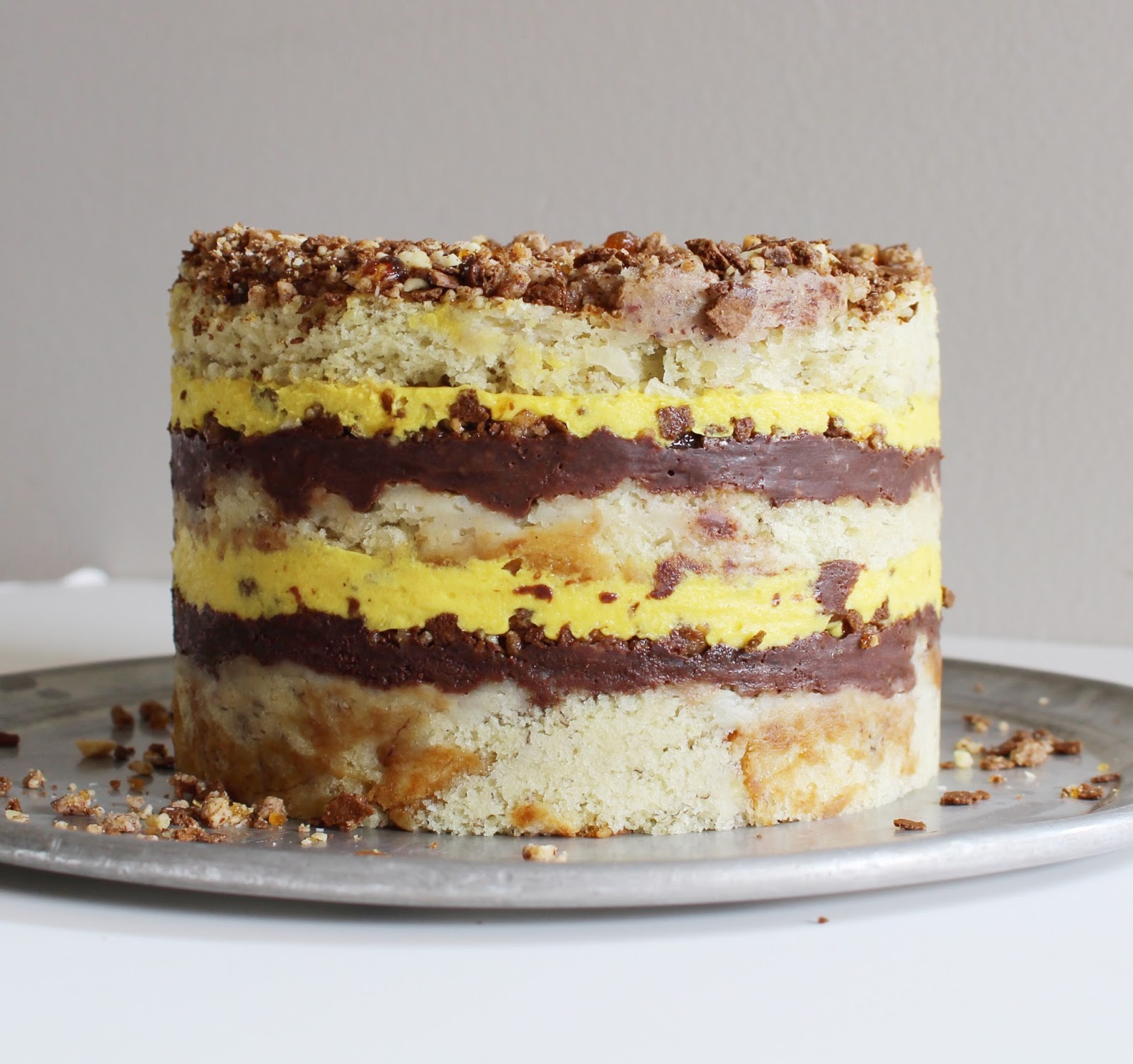 Momou Banana Layer Cake Recipe