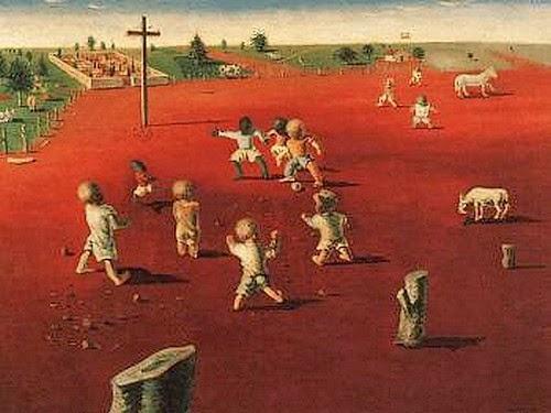 Futebol em Brodósqui – Cândido Portinari- 1935