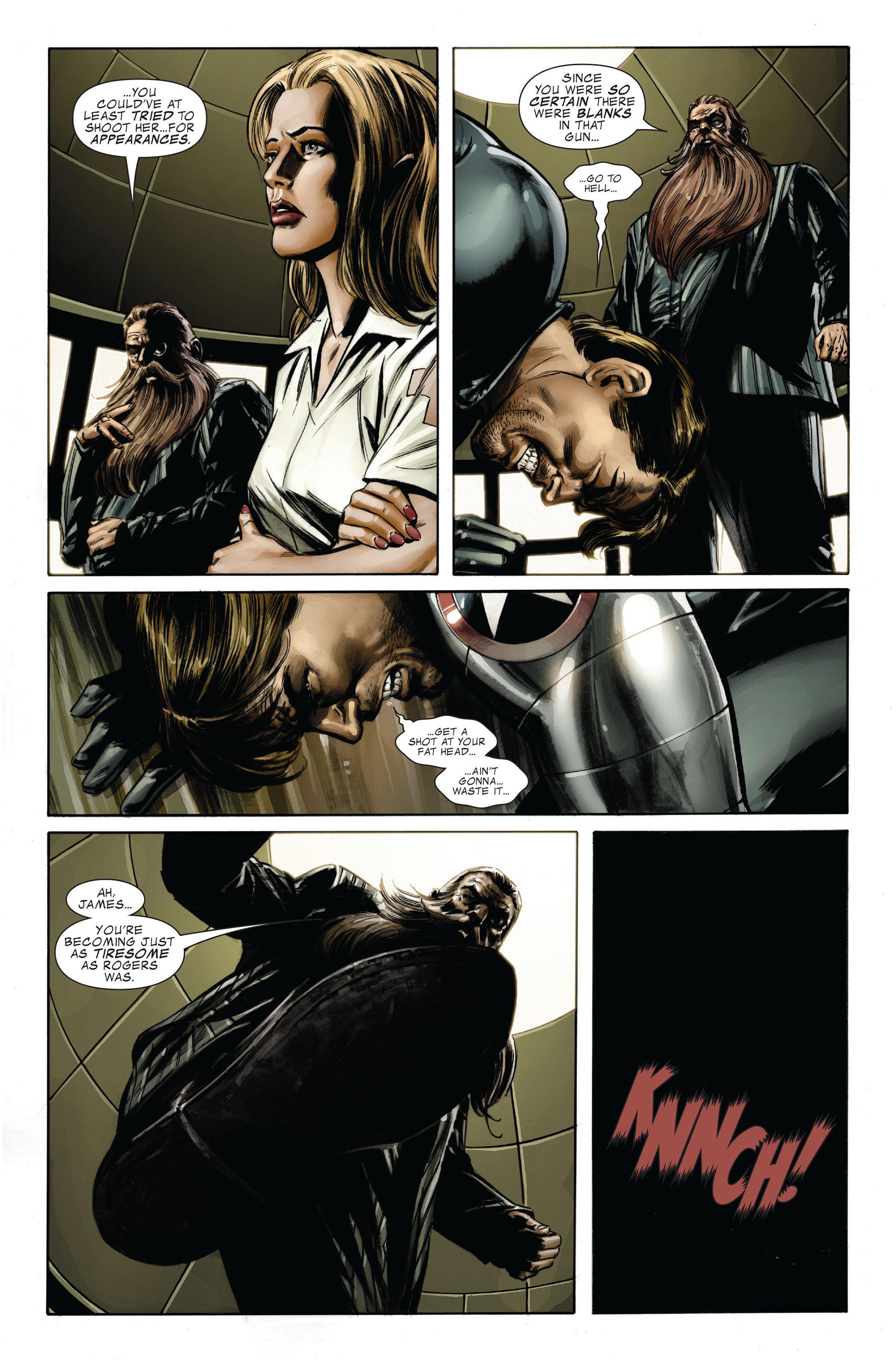 Captain America (2005) Issue #32 #32 - English 4