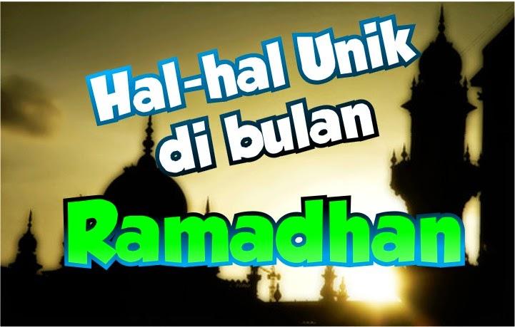unik ramadhan