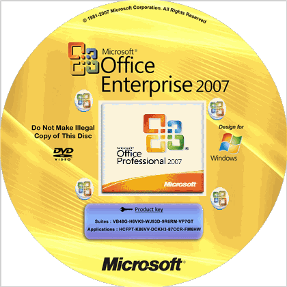 Free Download MS Office 2007