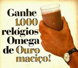 Promoção do Nescau com sorteio de mil relógios Omega de Ouro Maciço