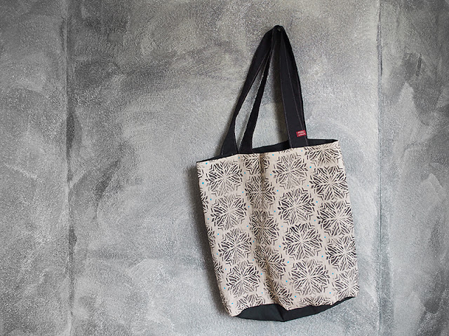frauschoenert's handprinted tote bag