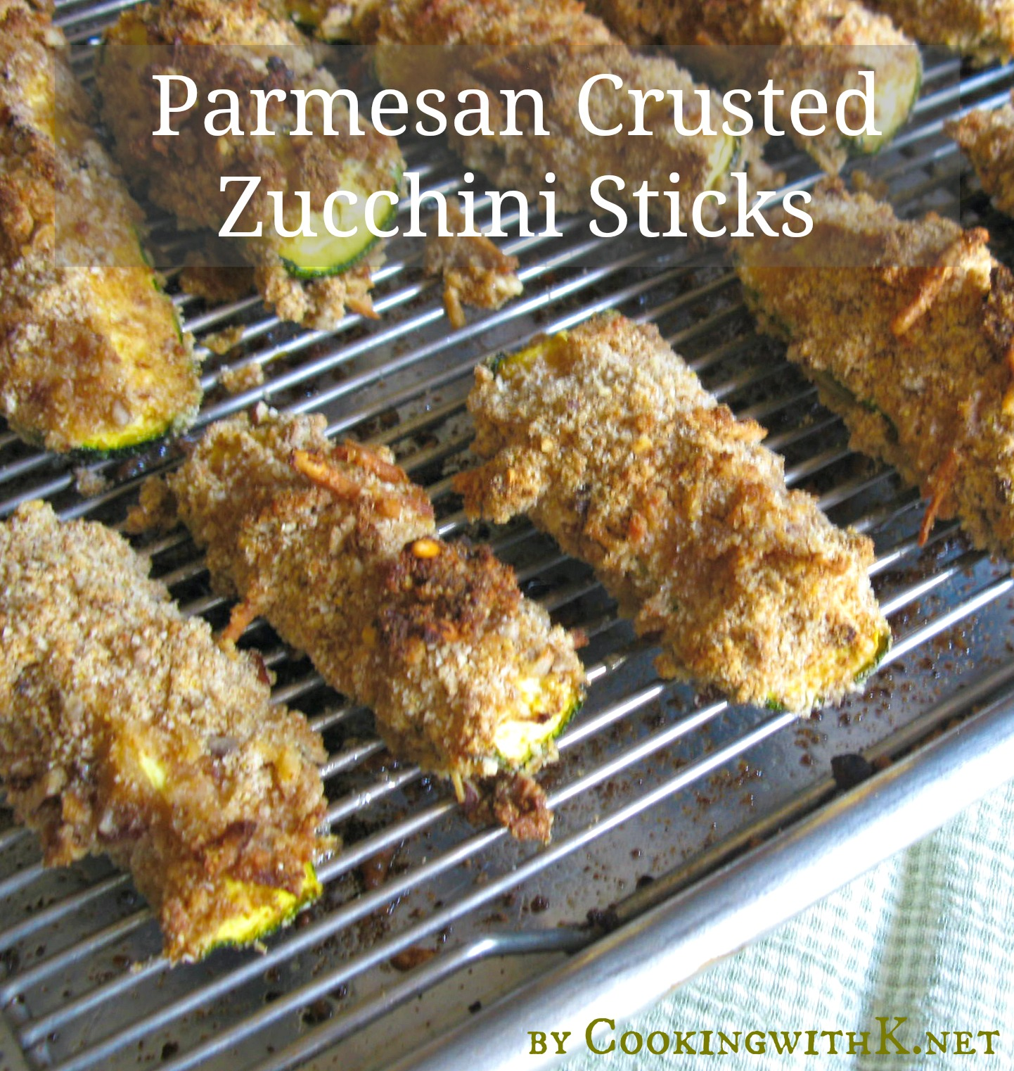 ... which brought about this recipe for Parmesan Crusted Zucchini Sticks