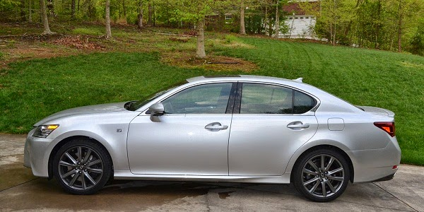 2014 Lexus GS 350 F Sport Side View