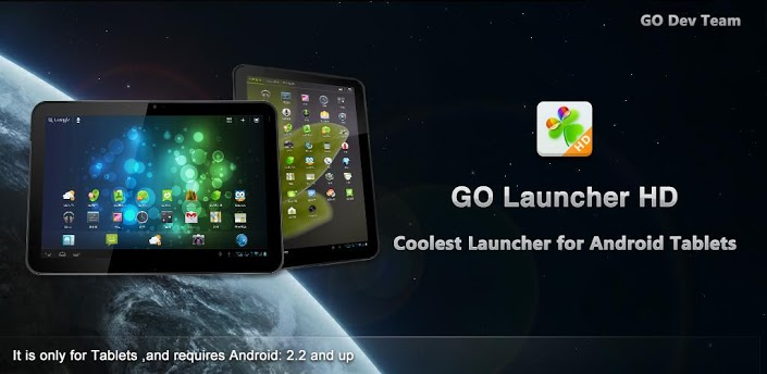... launcher hd is the exclusive tablet version of go launcher ex on