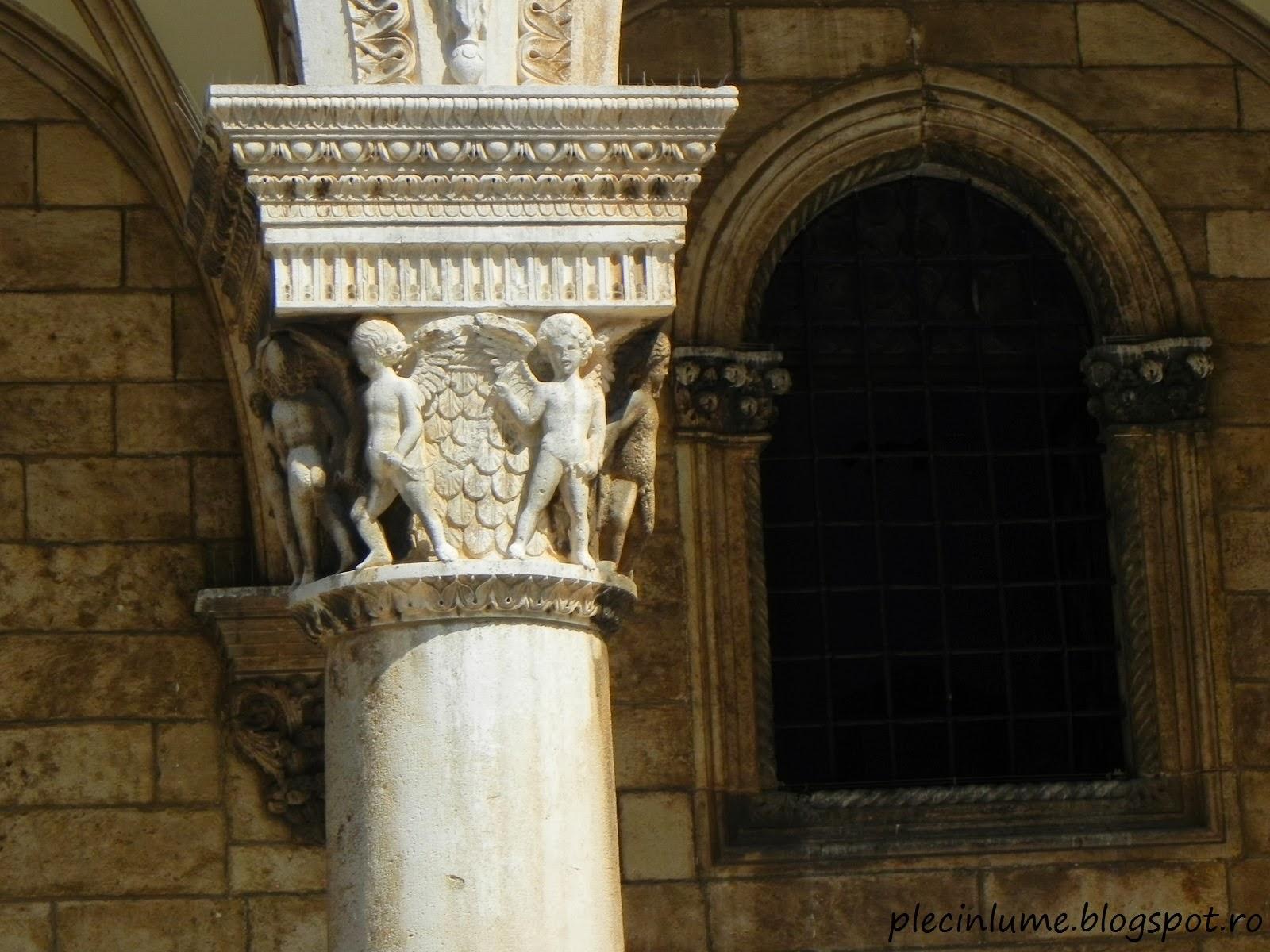 Decoratiuni in piatra, in Dubrovnik
