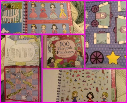 100 Fairy-Tale Princesses Design and Create sample pages collage
