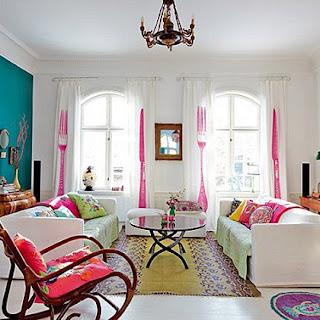 Muebles y telas en la decoración