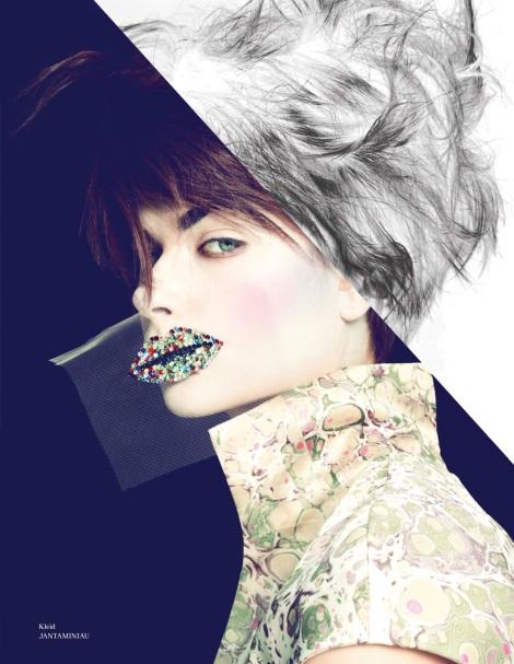 Bo Don pop art image in Tush Magazine