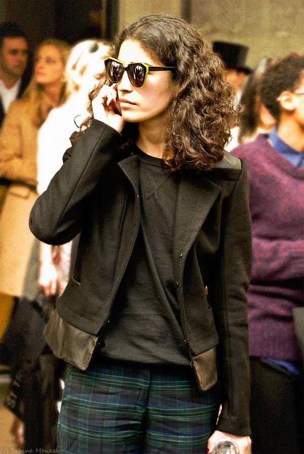 Psynopsis Streetstyle London Caroline Issa LFW