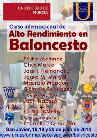 Curso Internacional de Alto Rendimiento en Baloncesto 2014