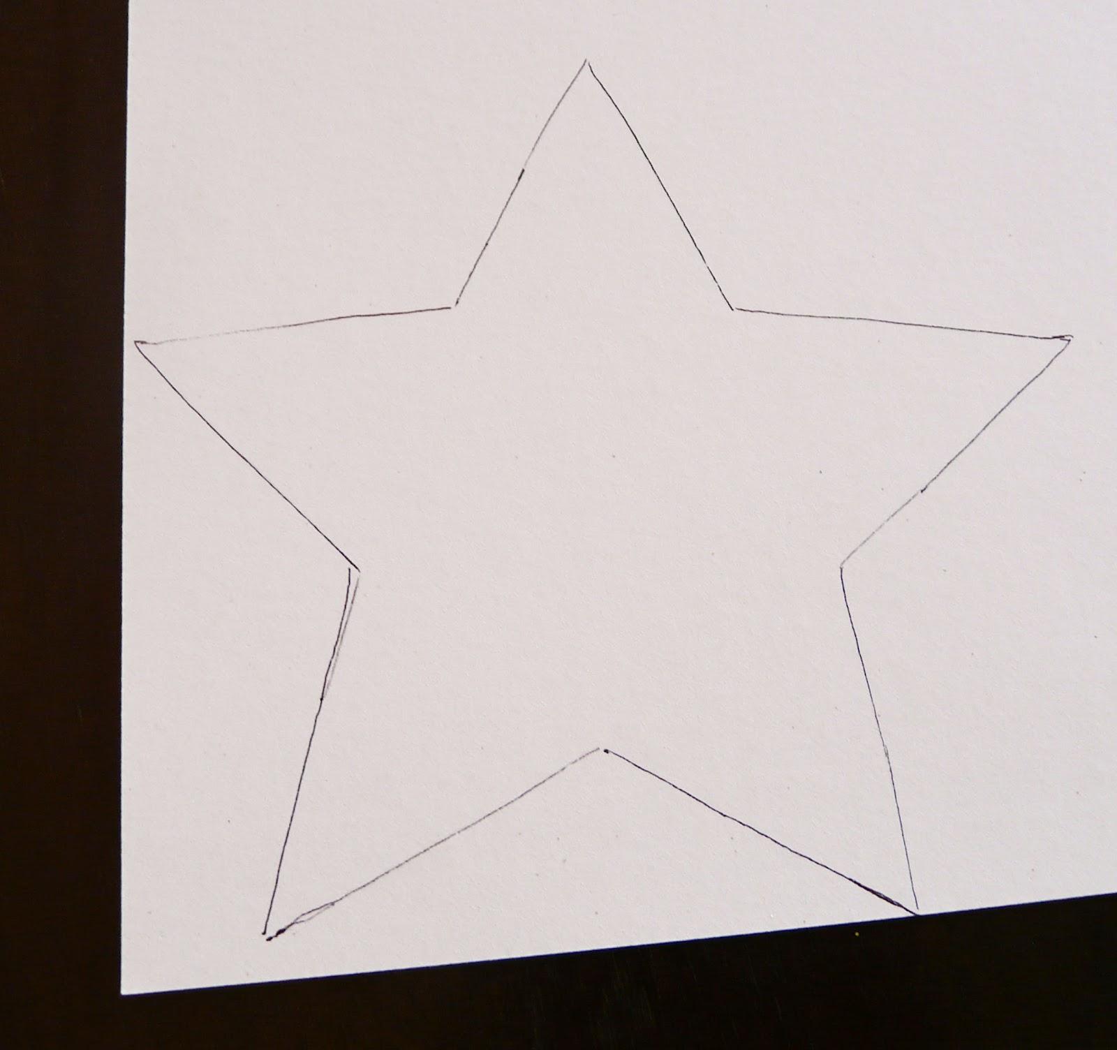 Звёзды из бумаги своими руками шаблоны 73