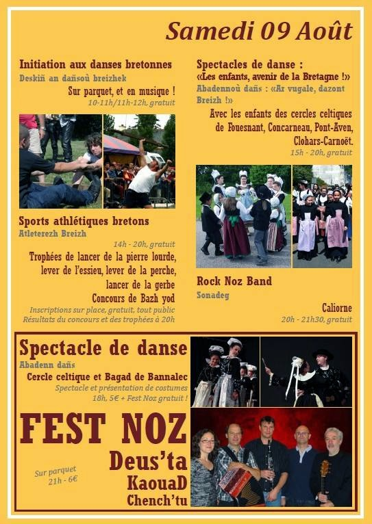 Caliorne - Festi'breizh 2014 - Clohars Carnoët