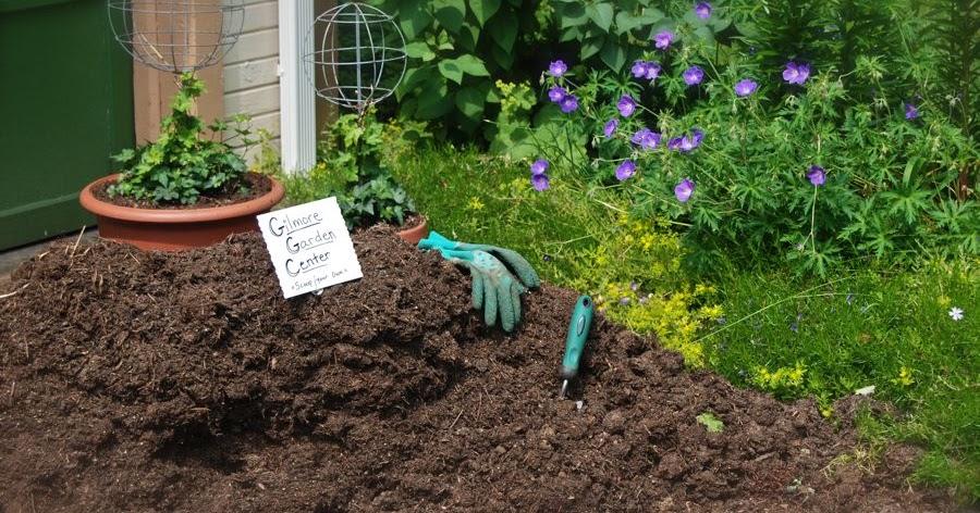 Wife mother gardener tips for applying mulch for Mushroom soil