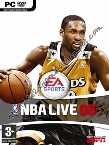 Free Download Games - NBA Live 08