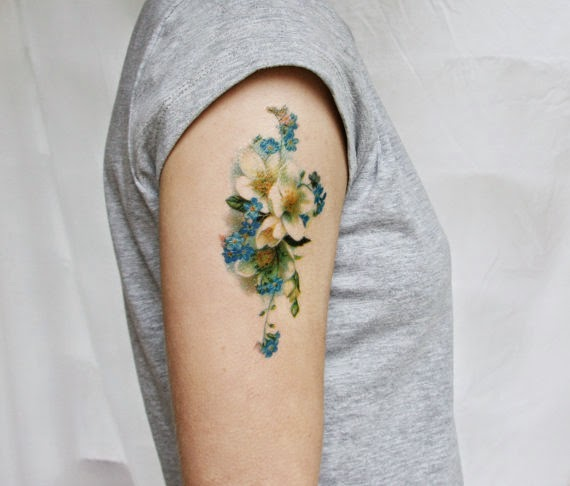 Of paper and things paper temporary tattoos for Temporary tattoo paper