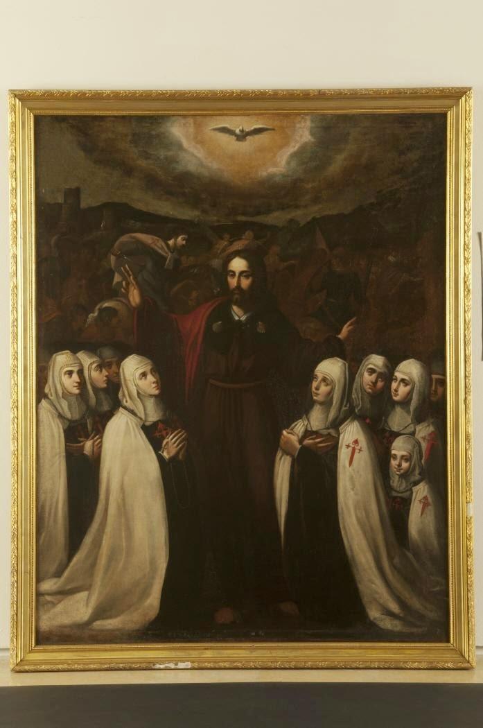 Orden de Santiago: Comendadoras del convento de Santa Cruz (Valladolid)