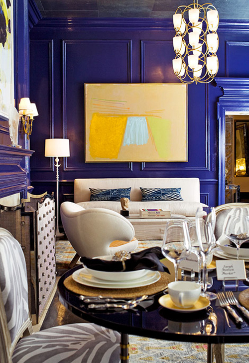 Cobalt Blue An Interior Design