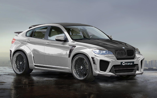 BMW X6 Typhoon RS V10 Front Side View