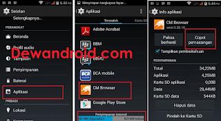 Cara RAM 512 MB Hp Android Tidak Lemot Tanpa Aplikasi