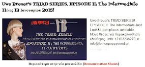 Uwe Breuer's TRIAD SERIES. EPISODE II: The Intermediate 11έως 13 Ιανουαρίου 2015!