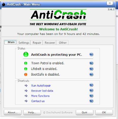 Download Software AntiCrash