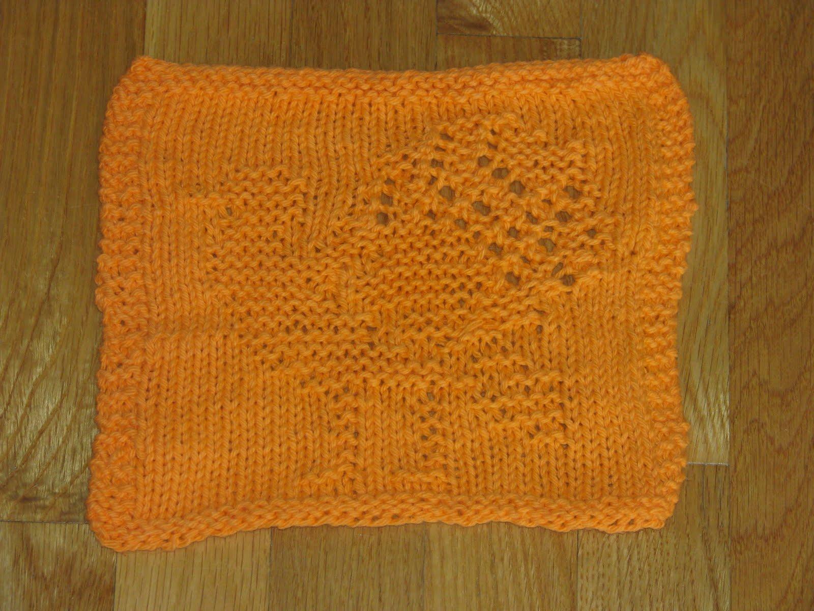 Craft Attic Resources: Turkey Knitted Dishcloth