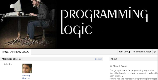 programming logic facebook group