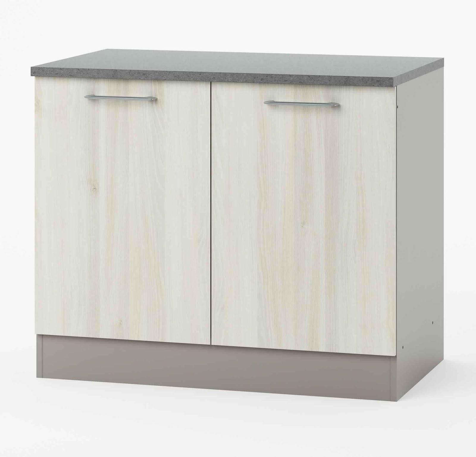 Buffet bas de cuisine decaper meuble de cuisine en chene for Meuble cuisine but
