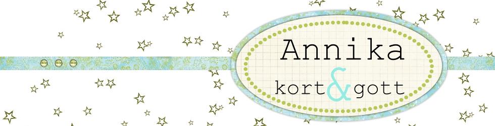 Annika - kort & gott