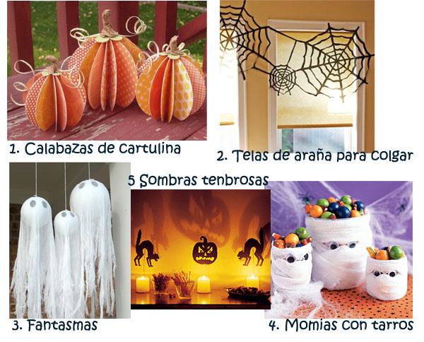 5 Ideas de decoracin para Halloween Como hacer