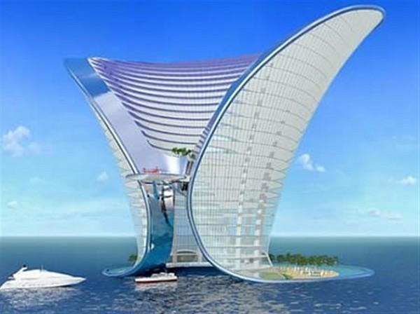 Amazing and wonderful apeiron island hotel dubai for Sailboat hotel dubai