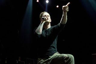 Stone Sour Corey Taylor Santiago Chile 2012