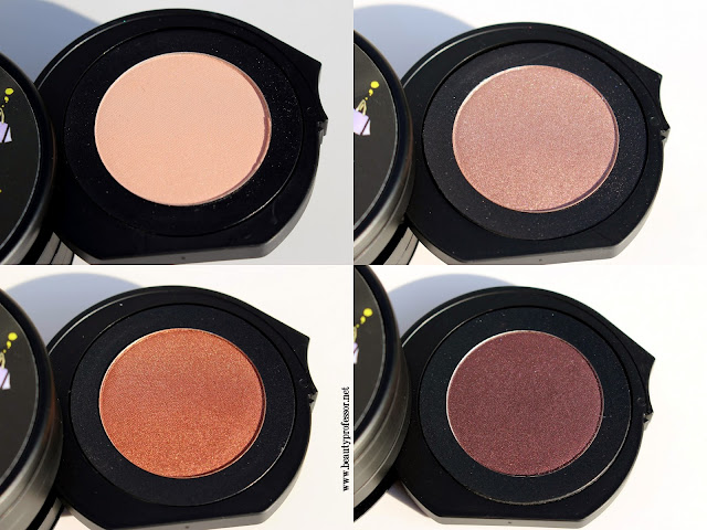 le metier de beaute ken downing london kaleidoscope swatches