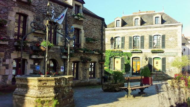 Viaggio in Bretagna a Rochefort-en-terre