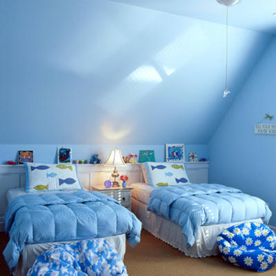Ice Blue Bedroom Decorating Ideas | sports !!