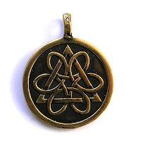 кулон колесо жизни купить символ триединства украина