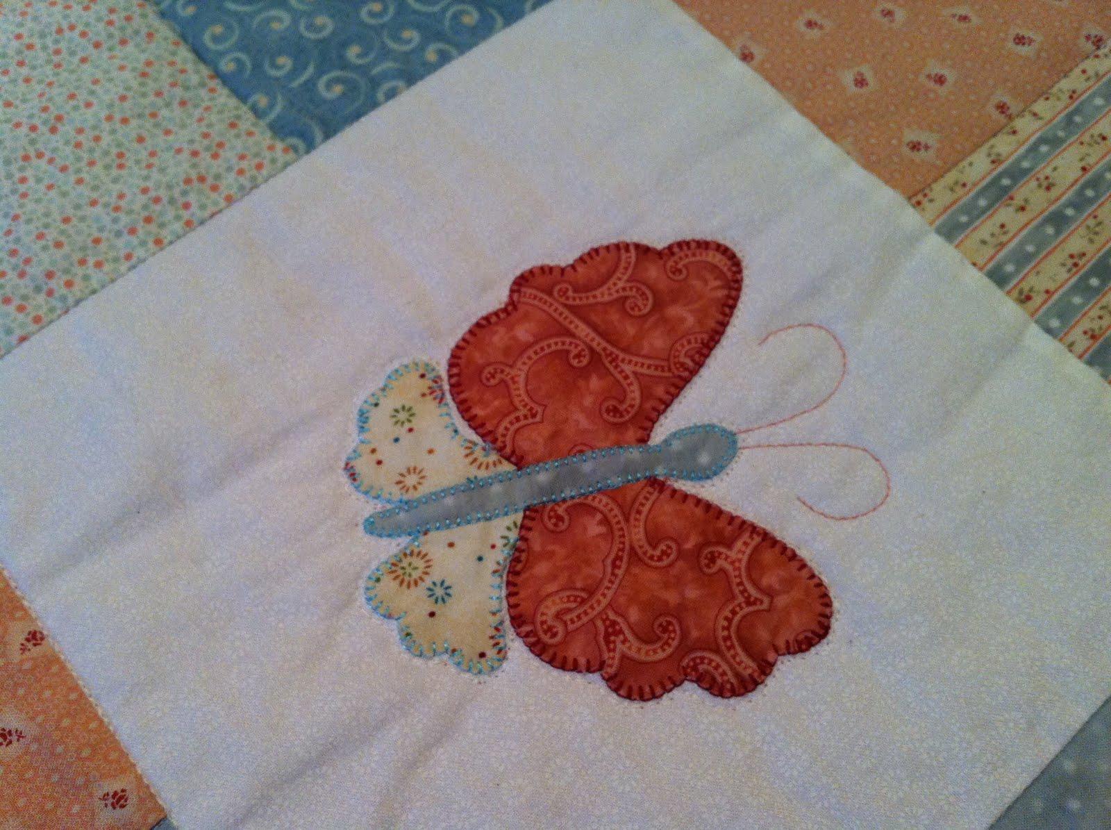 Mi hobby patchwork colcha de mariposas de paula - Hacer una colcha de patchwork ...