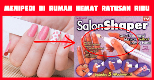 TOTES SALON SHAPER 5-IN-1 MANICURE & PEDICURE NAIL TRIMMING KIT Maluku Tenggara Barat