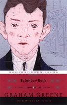 Brighton Rock by Graham Greene book cover