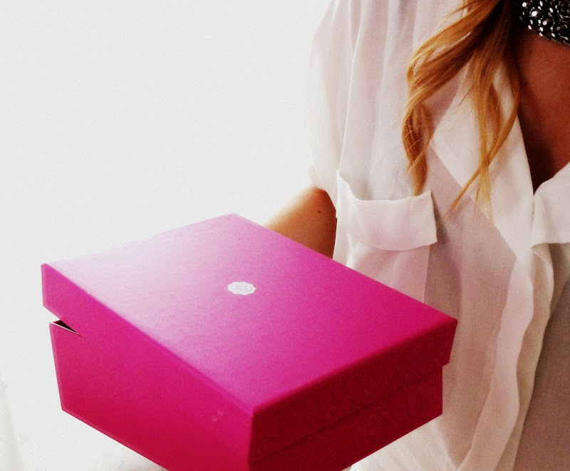 OPEN THE PINK BOX...LOVELY