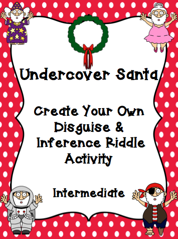 Secret Santa Riddles Clues Get undercover santa here
