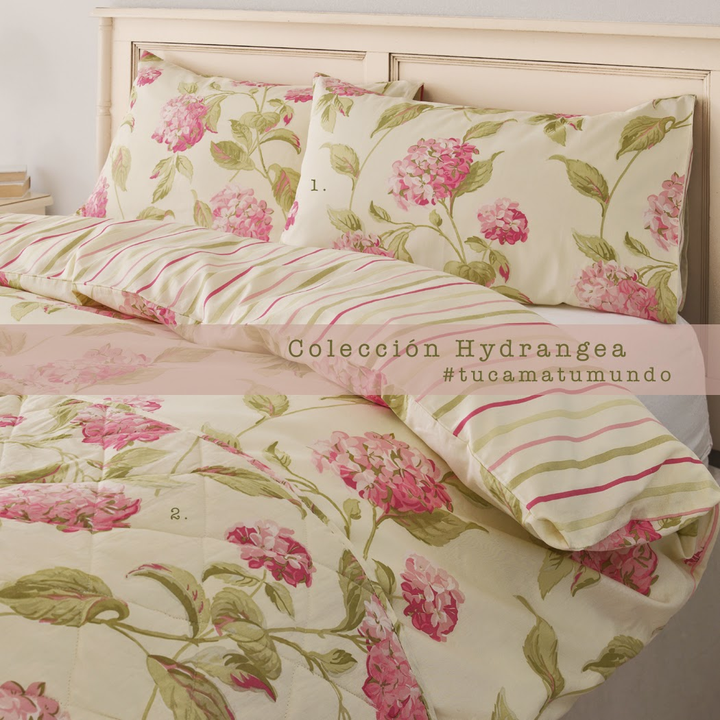 Ropa de cama flores Laura Ashley