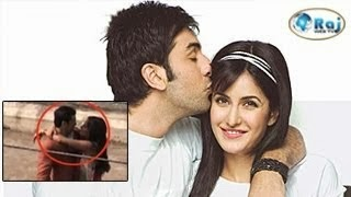 Actress Katrina Kissing Ranbir Kapoor – Leaked Video