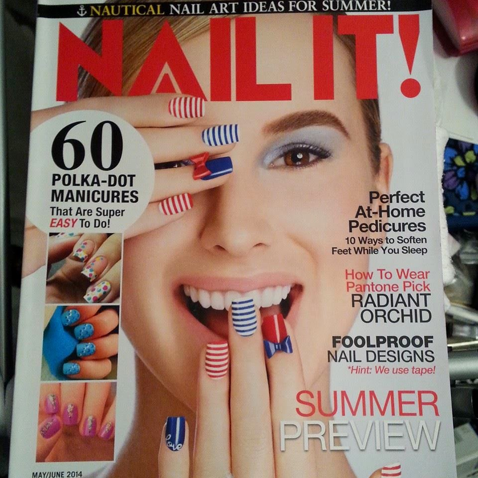 Nails Never Fails: Yay!!! My nails were in Nail It Magazine!!