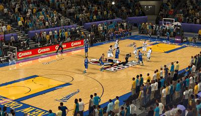 NBA 2K13 New Orleans Pelicans Court