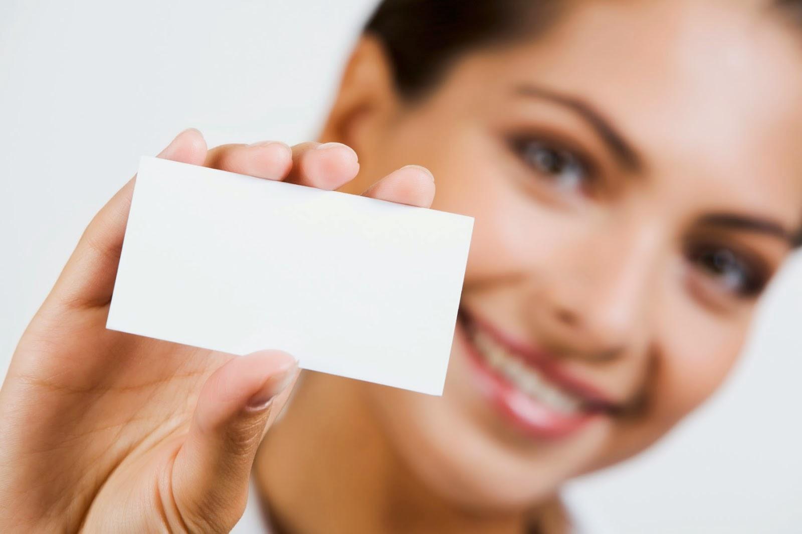 маркетинг, изработка на визитни картички