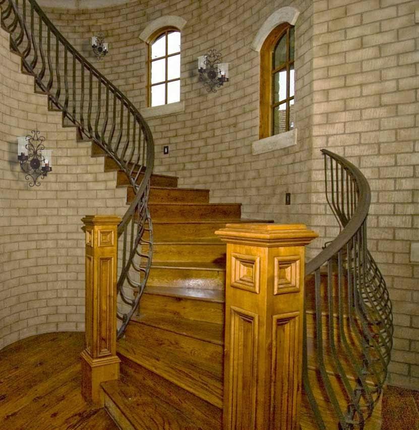 Foundation dezin decor staircase railing design for Custom stairways